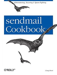 sendmail Cookbook-cover