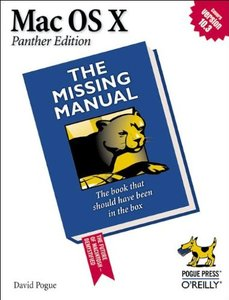 Mac OS X: The Missing Manual, Panther Edition (Paperback)-cover