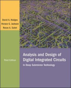 Analysis and Design of Digital Integrated Circuits, 3/e (IE-Paperback)-cover