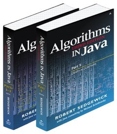 Algorithms in Java, (Parts 1-5), 3/e (Paperback)-cover
