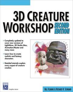 3D Creature Workshop, 2/e (Paperback)-cover