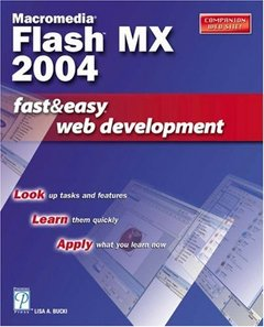 Macromedia Flash MX 2004 Fast & Easy Web Development-cover