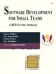 Software Development for Small Teams: A RUP-Centric Approach-cover