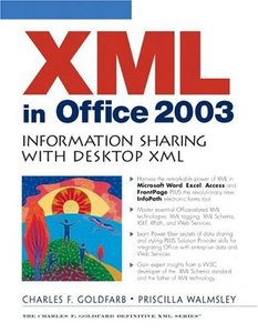 XML in Office 2003: Information Sharing with Desktop XML-cover