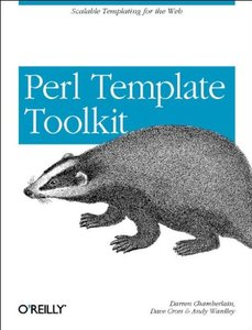 Perl Template Toolkit (Paperback)-cover