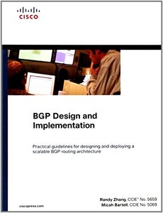 BGP Design and Implementation (Hardcover)-cover