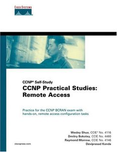 CCNP Practical Studies: Remote Access (CCNP Self-Study)-cover