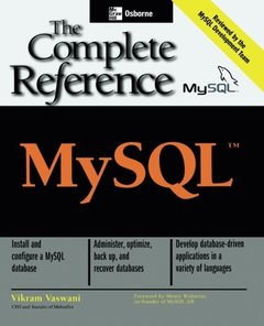 MySQL: The Complete Reference-cover