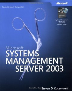 Microsoft Systems Management Server 2003 Administrator's Companion-cover