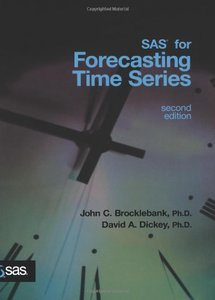 SAS for Forecasting Time Series, 2/e-cover