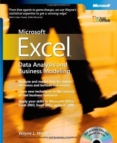 Data Analysis and Business Modeling with Microsoft Excel-cover