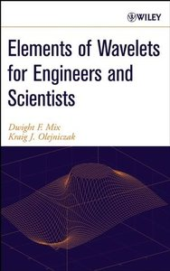 Elements of Wavelets for Engineers and Scientists (Hardcover)-cover