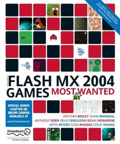 Macromedia Flash MX 2004 Games Most Wanted-cover