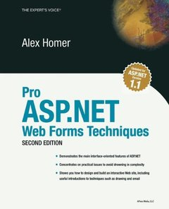 Pro ASP.NET Web Forms Techniques, 2/e (Paperback)-cover