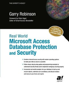 Real World Microsoft Access Database Protection and Security-cover