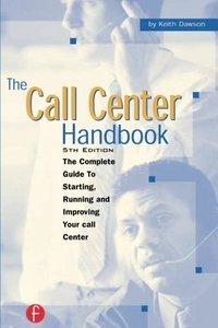 The Call Center Handbook, 5/e (Paperback)-cover