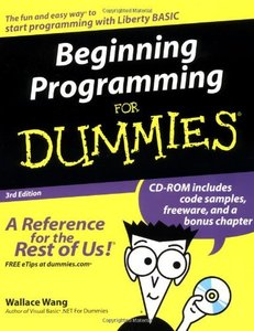 Beginning Programming for Dummies, 3/e-cover
