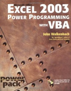 Excel 2003 Power Programming with VBA-cover