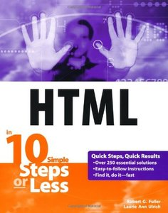 HTML in 10 Steps or Less-cover