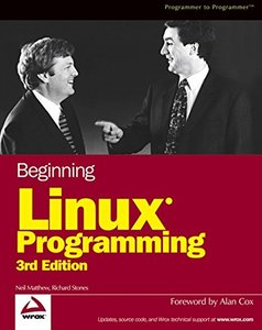 Beginning Linux Programming, 3/e-cover