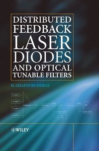 Distributed Feedback Laser Diodes and Optical Tunable Filters-cover