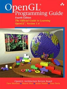 OpenGL Programming Guide: The Official Guide to Learning OpenGL, Version 1.4, 4/e-cover