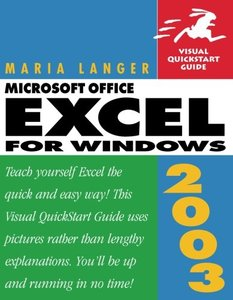Excel 2003 for Windows: Visual QuickStart Guide-cover