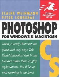 Photoshop CS for Windows and Macintosh : Visual QuickStart Guide (Paperback)-cover
