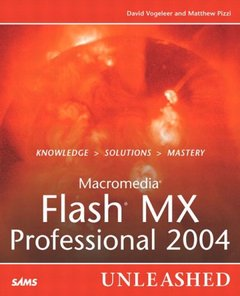 Macromedia Flash MX Professional 2004 Unleashed-cover