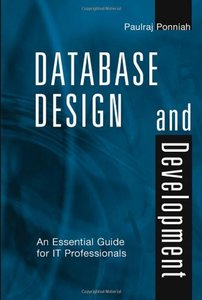 Database Design and Development: An Essential Guide for IT Professionals-cover