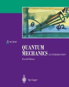 Quantum Mechanics: An Introduction, 4/e-cover