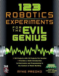 123 Robotics Experiments for the Evil Genius (Paperback)-cover