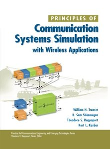Principles of Communication Systems Simulation with Wireless Applications (Paperback)-cover