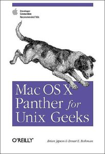 Mac OS X Panther for Unix Geeks (Paperback)-cover