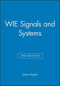 Signals and Systems, 2/e (美國版ISBN:0471164747)-cover