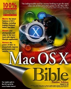 Mac OS X Bible, Panther Edition-cover