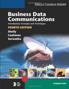 Business Data Communications: Introductory Concepts and Techniques, 4/e-cover