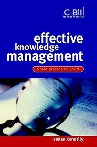 Effective Knowledge Management: A Best Practice Blueprint-cover