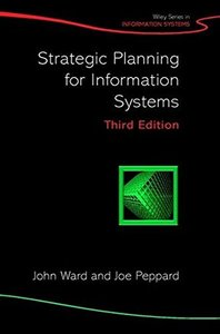 Strategic Planning for Information Systems, 3/e-cover