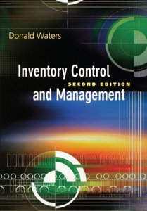Inventory Control and Management, 2/e (Paperback)-cover