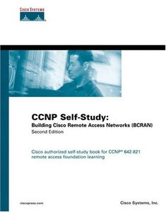 CCNP Self-Study: Building Cisco Remote Access Networks (BCRAN), 2/e (Hardcover)-cover