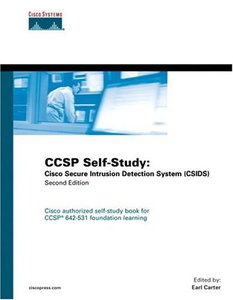 CCSP Self-Study : Cisco Secure Intrusion Detection System (CSIDS), 2/e-cover