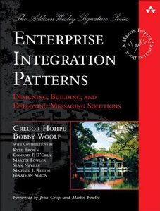 Enterprise Integration Patterns: Designing, Building, and Deploying Messaging Solutions (Hardcover)-cover