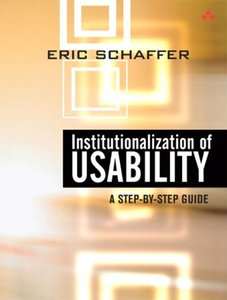 Institutionalization of Usability : A Step-by-Step Guide (Paperback)-cover
