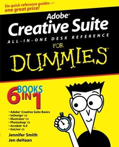 Adobe Creative Suite All-in-One Desk Reference for Dummies-cover