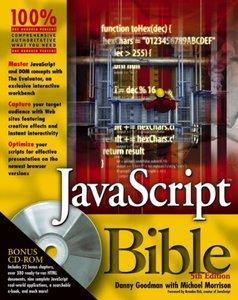 JavaScript Bible, 5/e-cover