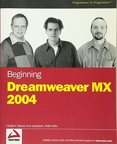 Beginning Dreamweaver MX 2004-cover