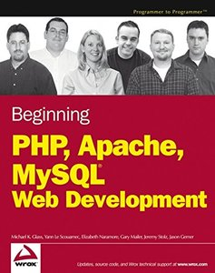 Beginning PHP, Apache, MySQL Web Development-cover