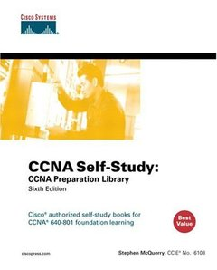 CCNA Self-Study: Ccna Preparation Library 640-801, 6/e-cover