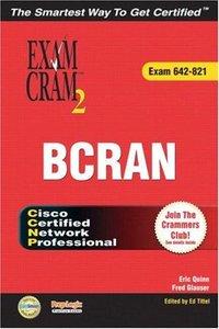 CCNP BCRAN Exam Cram 2 (642-821) (Paperback)-cover